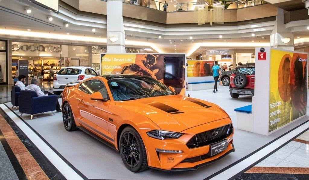 """Ford inaugura em São Paulo, no shopping Eldorado, o primeiro espaço """"Smart Lab"""""""