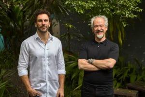 F.biz - Renato Duo, novo diretor de Planejamento da F.biz, e Fernand Alphen, co-CEO da F.biz