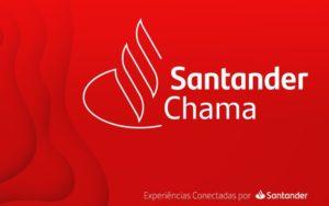 Santander Chama é a nova plataforma do banco.