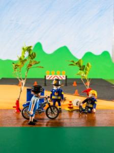 Caloi e Playmobil