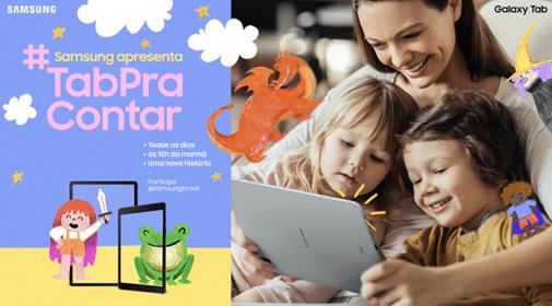 Histórias infantis - Samsung