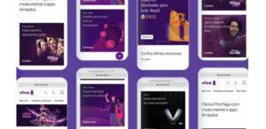 Nova campanha de Vivo traz site como protagonista.