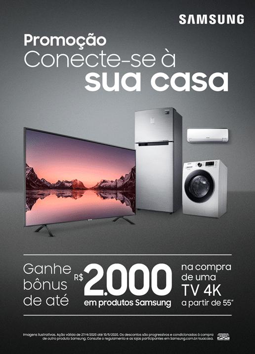 Campanha Conecte-se à sua casa, da Samsung