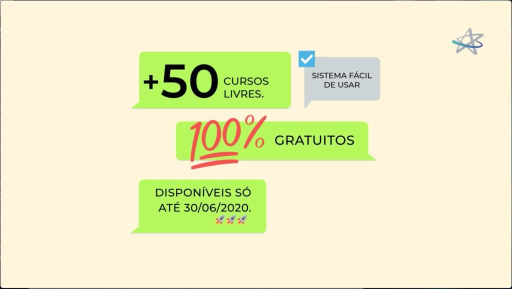 Cruzeiro do Sul - Cursos gratuitos