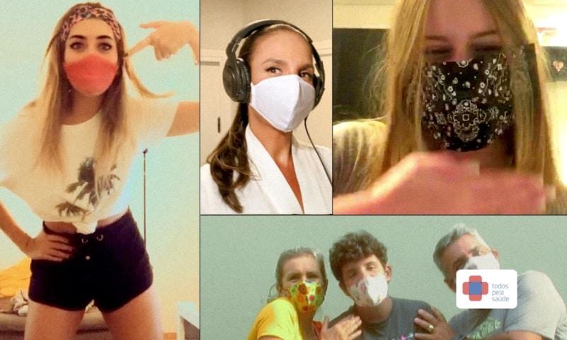 Iniciativa Todos pela Saúde lança música para campanha para o movimento #MascaraSalva
