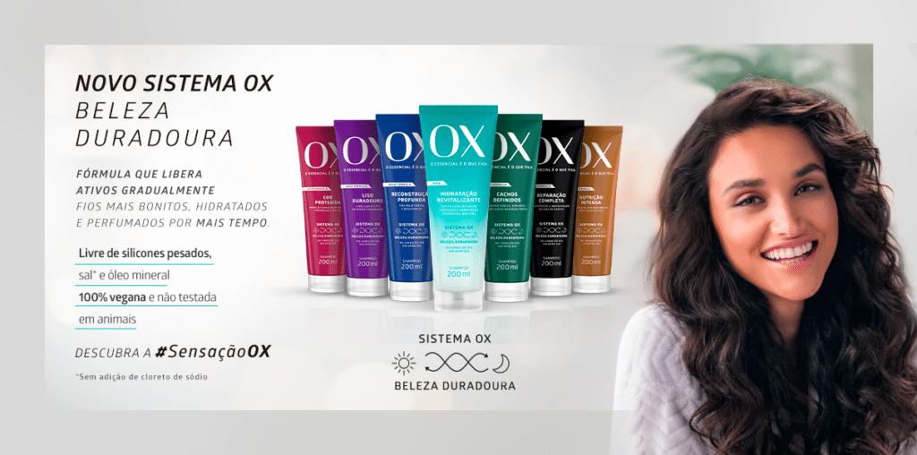 Campanha OX com Debora Nascimento