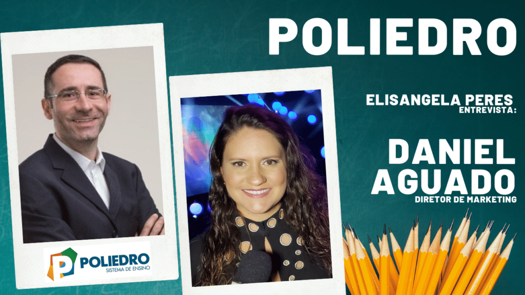 Elisangela Peres entrevista Daniel Aguado, do Poliedro