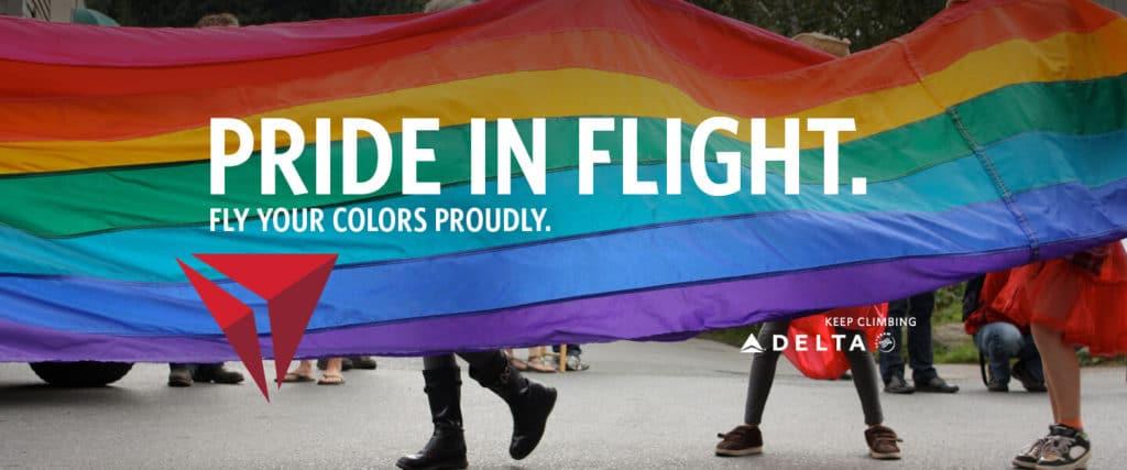 Orgulho LGBT - Delta_Airlines