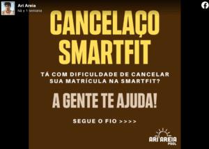 Patrocínio FakeNews - Cancelaço Smart Fit