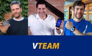Board- VTeam - David Laloum_CEO da Y&R Brasil - Sergio Giorgetti_VP de Mkt da Visa - Roberto Grosman_co-CEO da F.biz