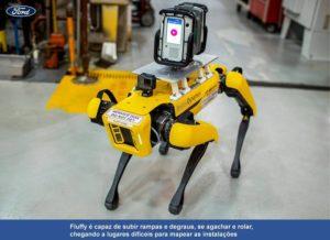 Cães robôs da Ford