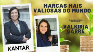 Marcas mais valiosas do Mundo - Elisangela Peres entrevista Valkiria Garré, CEO da Kantar Insights