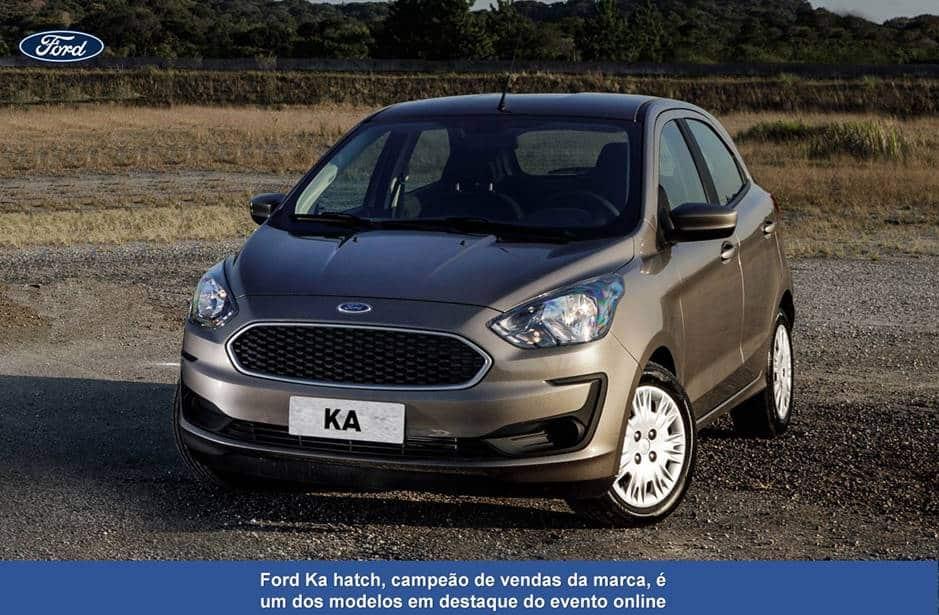 Ford promove a primeira live de vendas