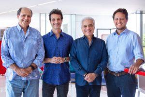 Grupo Dreamers - Lionel Chulam, Rodolfo Medina, Roberto Medina e Duda Magalhães