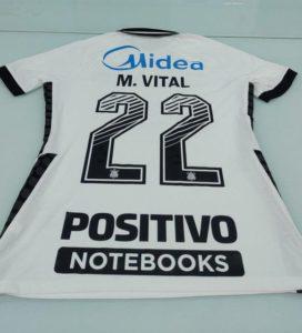 Camisa Corinthians - Novo patrocinador Positivo