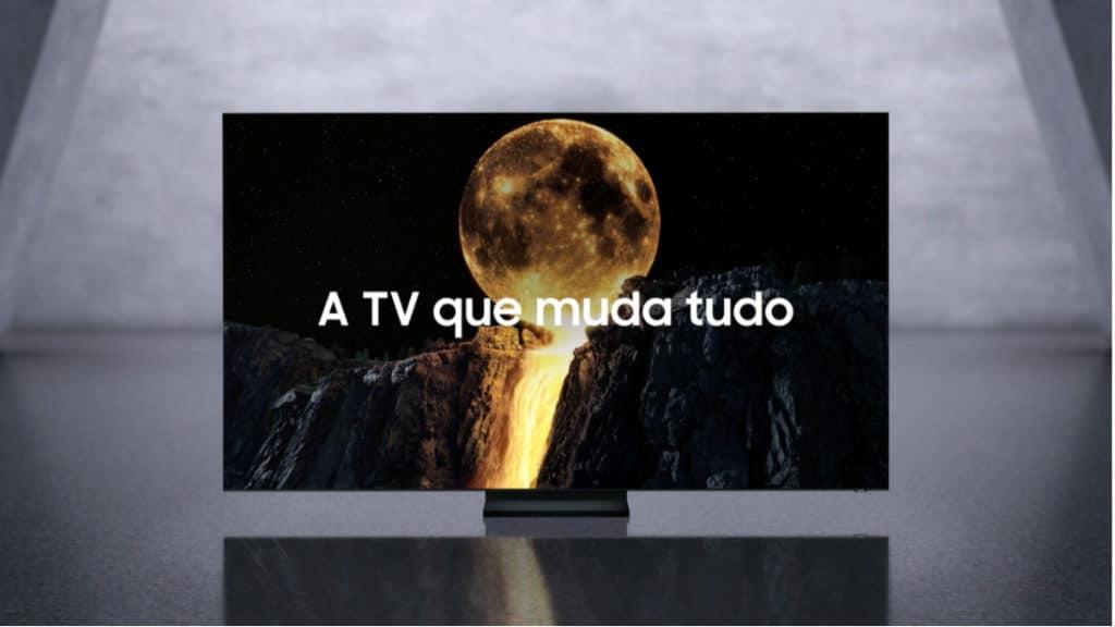 Campanha TV QLED 8K da Samsung