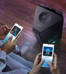 Sound Tower MX-T55 - Multiconexão por Bluetooth