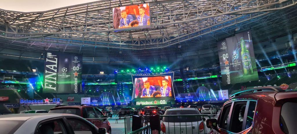 Heineken UEFA Champions League - Drive-in Allianz Parque