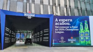 Entrada do Drive-In Heineken Champions League