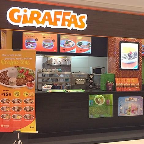 Giraffas entrega conta publicidade para o grupo Raí