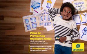 Brasilprev ressalta a importância de planejar o futuro das crianças.