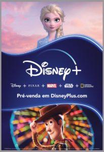 Perto da chegada ao Brasil, Disney Plus invade ruas e metrôs de SP e RJ.