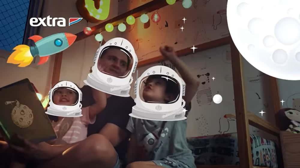 Em campanha de Dia das Crianças, Extra reforça a importância de sorrir e brincar
