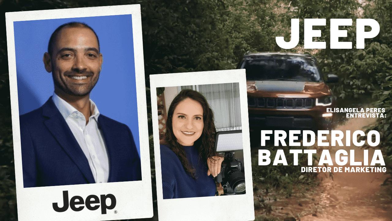 Elisangela Peres conversou com Frederico Battaglia, sobre o aplicativo Jeep Trilhas