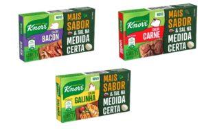 'O sabor ficou. E o sal, para onde foi?': Knorr apresenta linha Zero Sal.