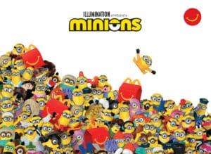 Nova campanha do McLanche Feliz trará Minions em dobro.