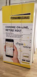 Pernambucanas oferece serviço 'Clique e Retire' aos clientes.