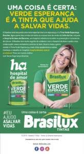 Renata Fan é garota propaganda de ação beneficente para o Hospital de Amor.