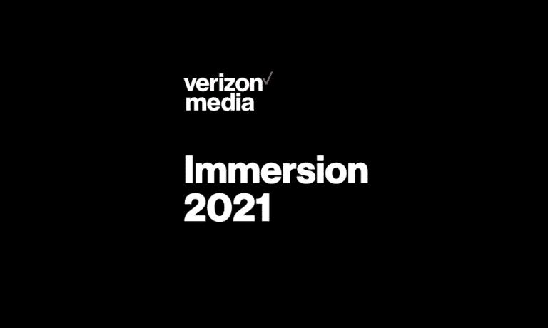 Verizon Media realiza evento de experiência imersiva.