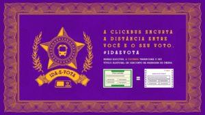 ClickBus transforma título de eleitor em passagem de ônibus.