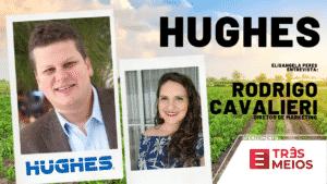 Elisangela Peres entrevista Rodrigo Cavaliere, diretor de marketing e comunicação da Hughes no Brasil.