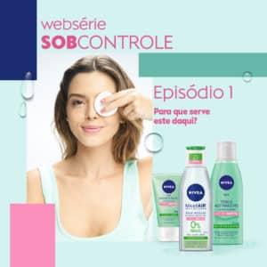 Nivea lança websérie estrelada por Giovanna Lancellotti.
