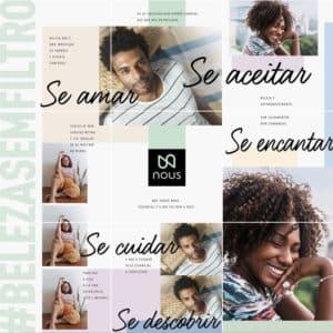 Nous, nova marca especializada em cuidados pessoais, aposta na diversidade da beleza.