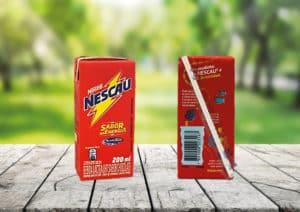 Nescau anuncia a retirada de 100% dos canudos plásticos de suas bebidas.