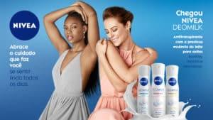 Paolla Oliveira e Xênia França estrelam campanha de NIVEA DEOMILK.