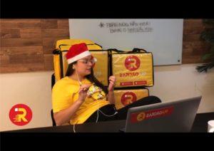 RapidãoApp assume o lugar do Papai Noel neste Natal.