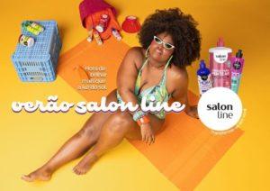 Em campanha, Salon Line comemora a chegada do Verão.
