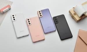 Cores do Samsung Galaxy S21