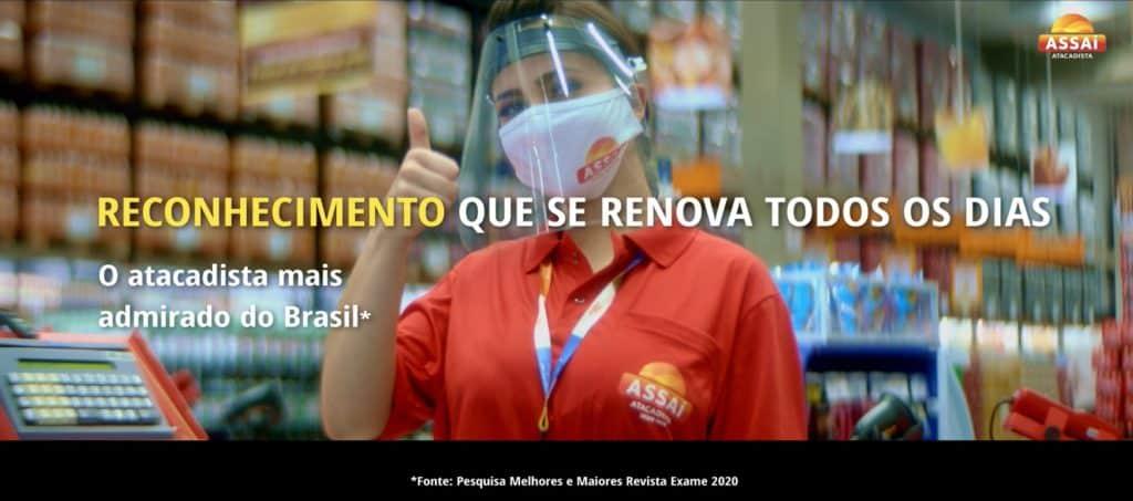 Assaí reforça afinidade da marca com o dia a dia dos brasileiros.