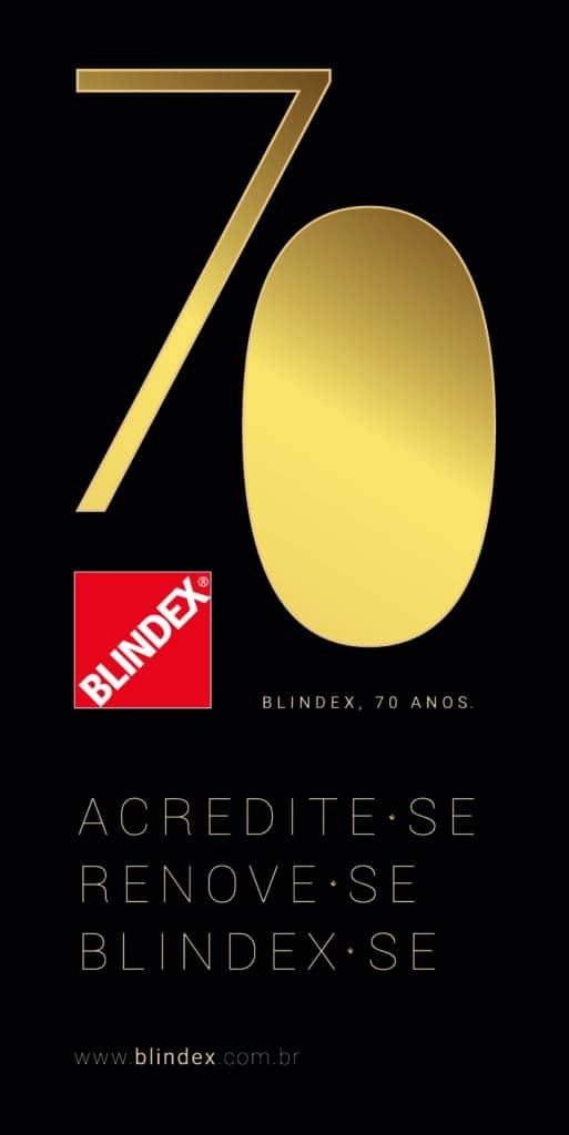 Blindex comemora 70 anos de história.