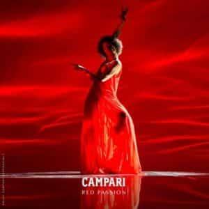 Red Passion: Campari incentiva público a despertar suas paixões.