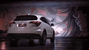 Honda reforça concepção do modelo HR-V.