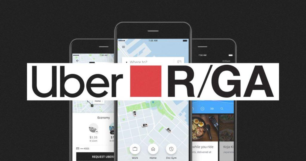 R/GA conquista conta Global de Social Media da Uber.