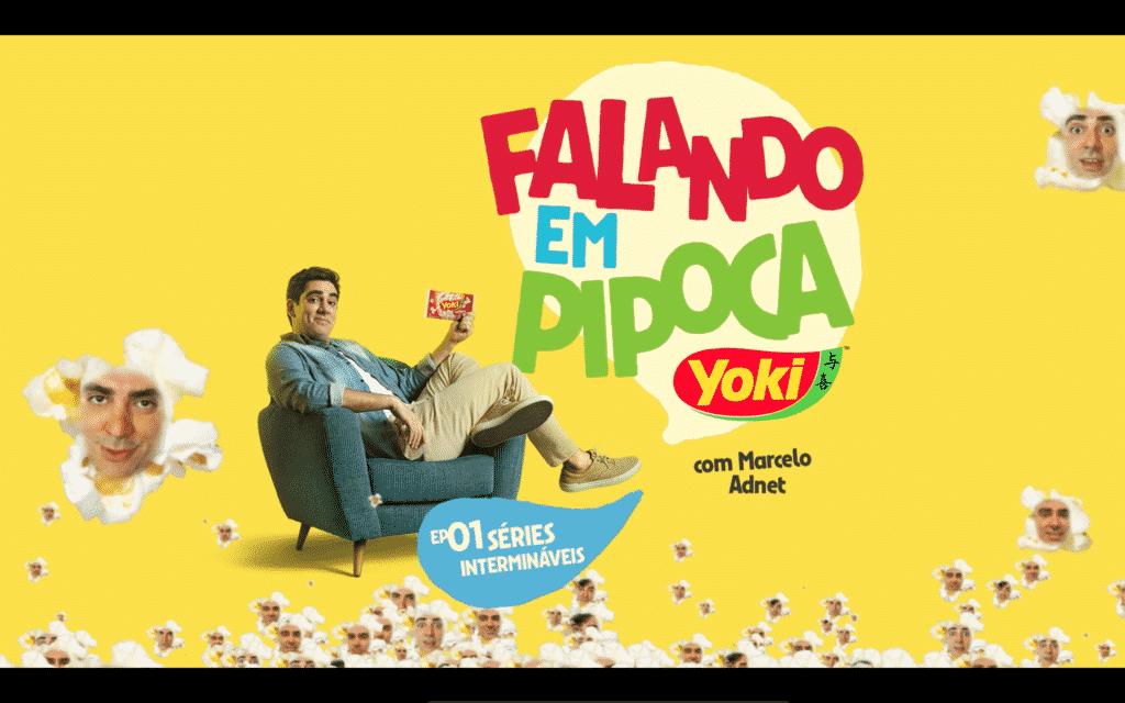 Marcelo Adnet estrela campanha de verão da Yoki.