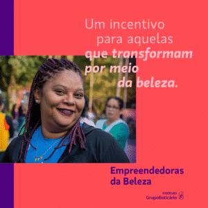 "Programa ""Empreendedoras da Beleza"" capacita mais de 11 mil mulheres."