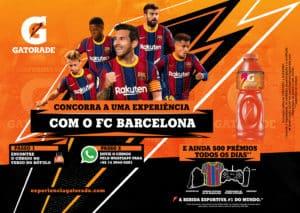 Gatorade pode ajudar torcedores a terem uma experiência com o Barcelona.